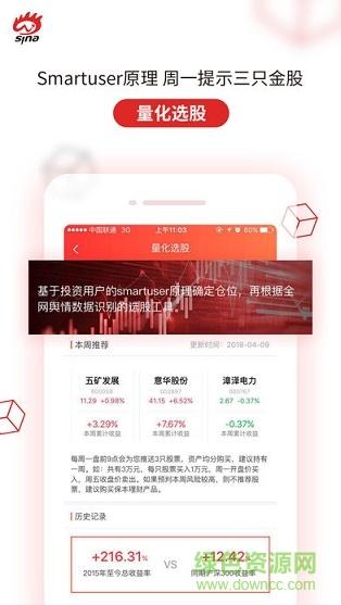 新浪会选股炒股软件